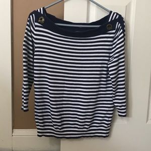 Lauren Ralph Lauren long sleeve sweater top L